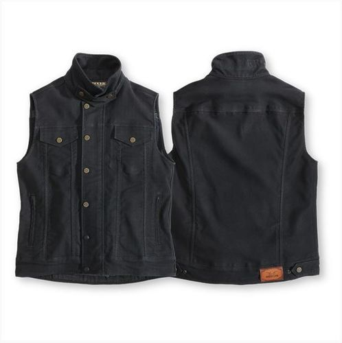 ROKKER - Men Black Jack Vest