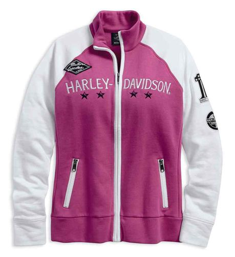 "Harley - Davidson - Damen - Collegejacke ""Colorblock Activewear "" - 96142-18VW"