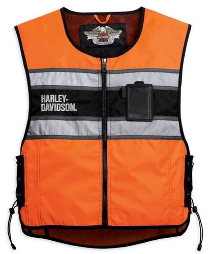 Harley - Davidson - Herren - Orange Riding Vest - 98172-08VM