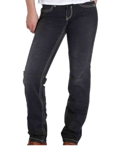 "ROKKER - Damen Riding Jeans ""The Black Lady"""