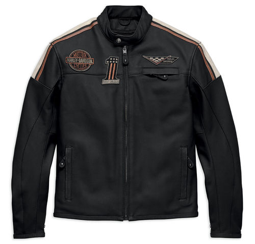 "Harley - Davidson - Men - Leather Jacket  ""Gorgan CE "" - 97003-18EM"