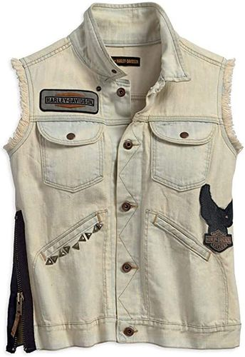 "Harley - Davidson - Damen -  Vest ""Zipper Denim"" - 97469-18VW"
